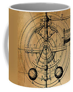 Coffee Mug featuring the painting Cyclotron by James Christopher Hill