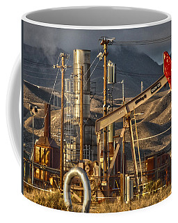Coffee Mug featuring the photograph Cymric Field I by Lanita Williams