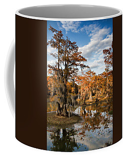 Coffee Mug featuring the photograph Cypress Rust by Lana Trussell