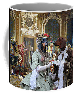 Dachshund Art - Royal Party Coffee Mug