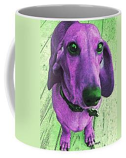 Dachshund - Purple People Greeter Coffee Mug