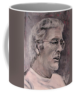 Coffee Mug featuring the painting Dad  Jwdee   Rip 1927 2013 by Eric Dee