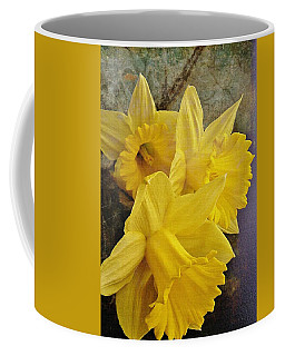 Coffee Mug featuring the photograph Daffodil Burst by Diane Alexander