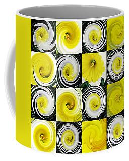 Daffodil Spring Mosaic Coffee Mug