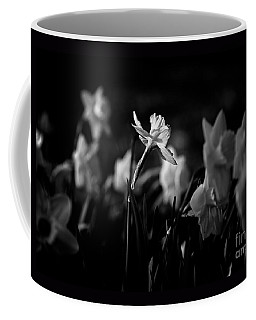 Daffodils In Black And White Coffee Mug
