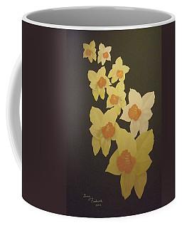 Daffodils Coffee Mug by Terry Frederick