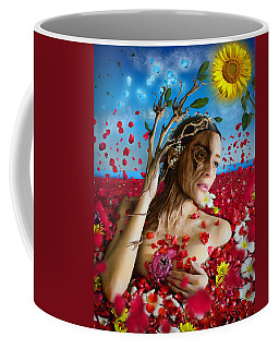 Dafne   Hit In The Physical But Hurt The Soul Coffee Mug