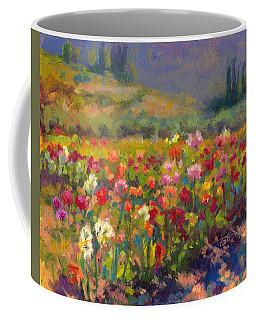 Dahlia Row Coffee Mug