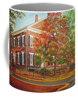 Dahlonega's Gold Museum In Autumn Coffee Mug