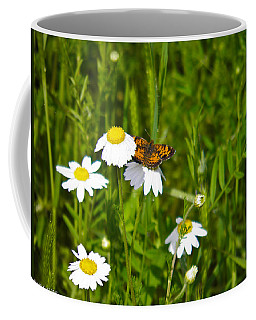 Daisey And Butterfly Coffee Mug