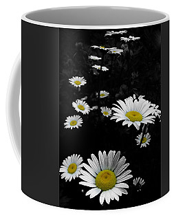 Daisies Coffee Mug by GJ Blackman