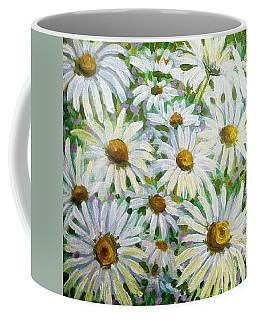 Daisies Coffee Mug by Jeanette Jarmon