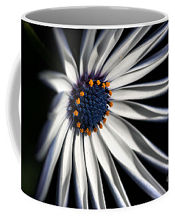 Coffee Mug featuring the photograph Daisy Heart by Joy Watson
