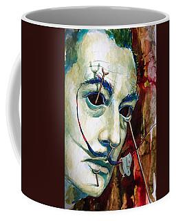 Coffee Mug featuring the painting Dali 2 by Laur Iduc