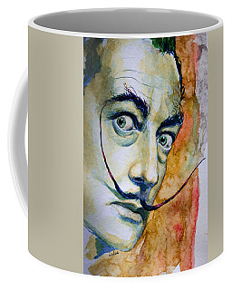 Coffee Mug featuring the painting Dali by Laur Iduc