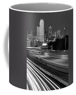 Dallas Arrival Bw Coffee Mug
