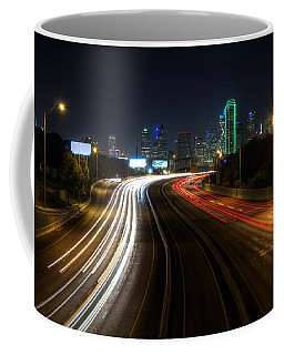 Dallas Night Light Coffee Mug