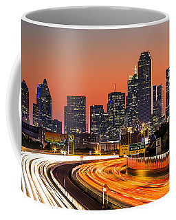 Dallas Sunrise Coffee Mug by Mihai Andritoiu