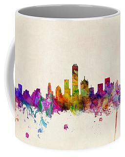 Dallas Skyline Coffee Mugs