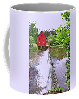 Dam At Starrs Mill Coffee Mug