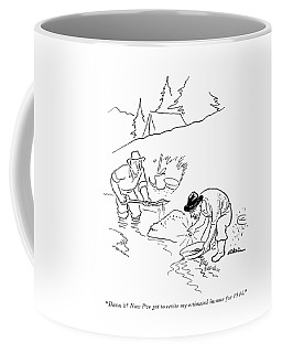 Damn It! Now I've Got To Revise My Estimated Coffee Mug