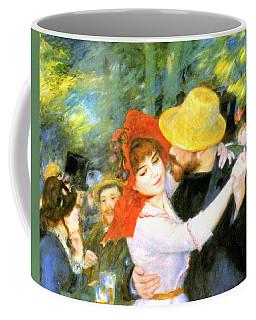 Dance At Bougival Detail Coffee Mug