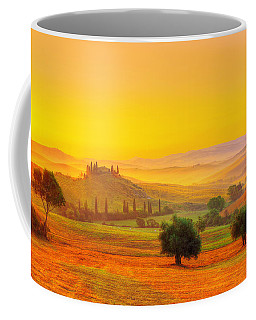 Dance Of Dawn Coffee Mug by Midori Chan
