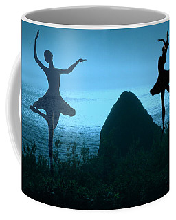 Coffee Mug featuring the photograph Dance Of The Sea by Joyce Dickens