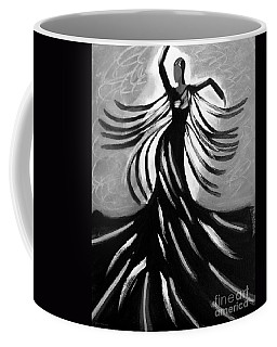Coffee Mug featuring the painting Dancer 2 by Anita Lewis