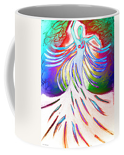 Coffee Mug featuring the painting Dancer 4 by Anita Lewis