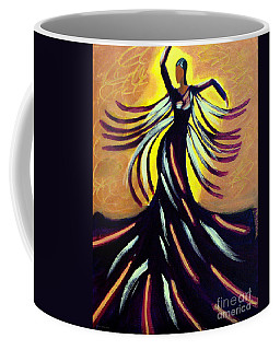 Coffee Mug featuring the painting Dancer by Anita Lewis