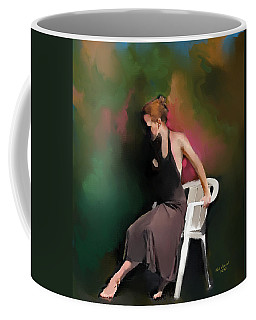 Dancer At Rest Coffee Mug