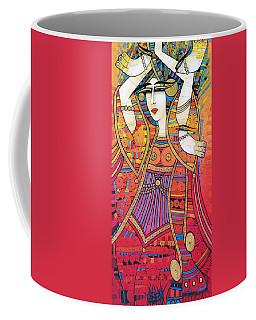 Dancer With Doves Coffee Mug