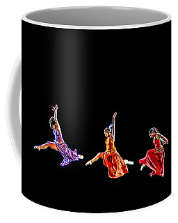 Dancers In Flight Coffee Mug