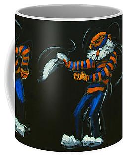 Dancing Aubie Coffee Mug by Carole Foret