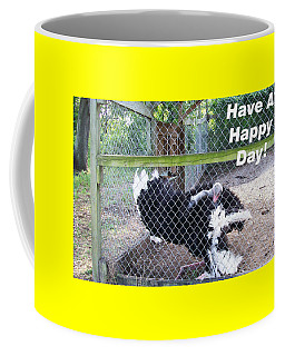 Dancing Big Bird Happy Day Coffee Mug