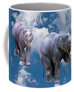 Dancing Elephants Coffee Mug