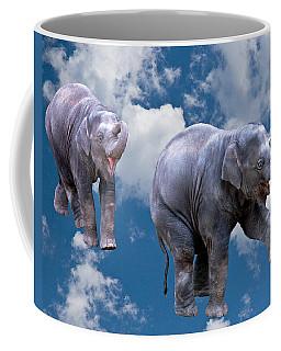 Dancing Elephants Coffee Mug by Jean Noren