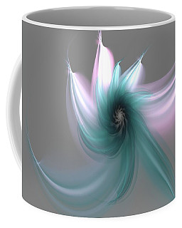 Dancing Flower Coffee Mug by Svetlana Nikolova