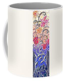 Dancing Flowers At Sunrise Coffee Mug