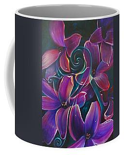 Dancing Hyacinths Coffee Mug