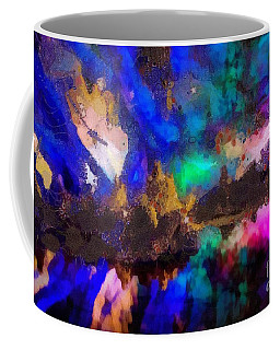 Coffee Mug featuring the painting Dancing In The Moon Light by Catherine Lott