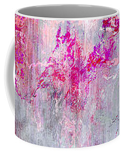 Dancing In The Rain - Abstract Art Coffee Mug by Jaison Cianelli