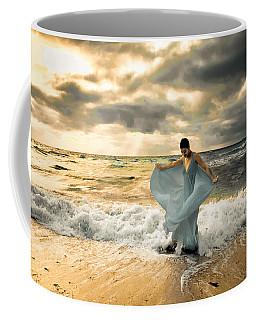 Dancing In The Surf Coffee Mug