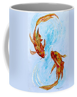 Dancing Koi Sold Coffee Mug