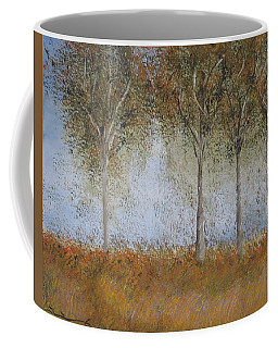 Dancing Leaves Coffee Mug by Tim Townsend