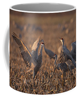 Dancing Sandhills Coffee Mug