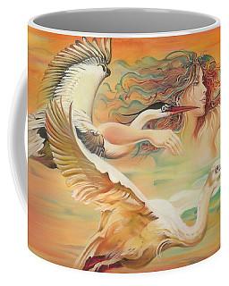 Dancing With Birds Coffee Mug