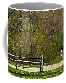 Dandelion Dressage Coffee Mug
