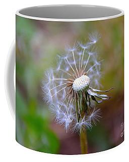 Coffee Mug featuring the photograph Dandelion by Lisa L Silva